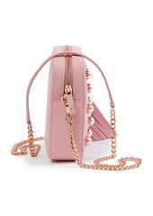 Ted Baker Alessia Imitation Pearl Embellished Leather Crossbody