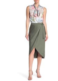 Ted Baker Aleyxa Belted Tulip Hem Skirt