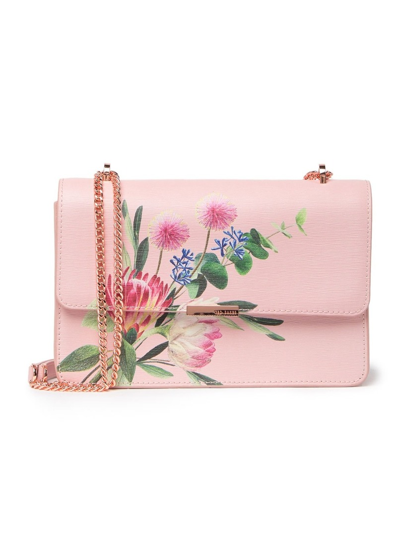 Ted Baker Asterri Flourish Leather Crossbody Bag