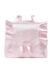 Ted Baker Aviiana Ruffle Leather Backpack