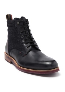 Ted Baker Axtoni Leather Wool Boot