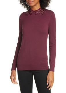 Ted Baker Azaleo Embellishment Detail Jumper Sweater