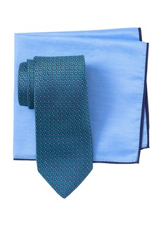 Ted Baker Aztec Box Tie & Pocket Square Set