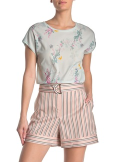 Ted Baker Benlita Sorbet Stripe Print Woven Shorts