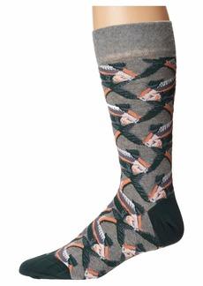 Ted Baker Betony All Over Fish Socks