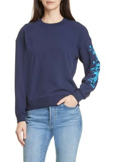 Ted Baker Bluebell Embroidered Pullover Sweater