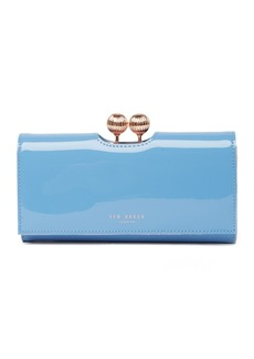 Ted Baker Bobble Patent Leather Wallet