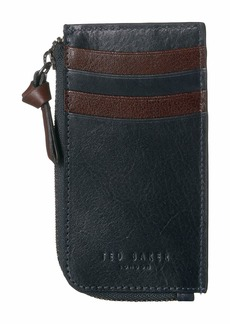 Ted Baker Bombay Leather Zip-Up Card Holder