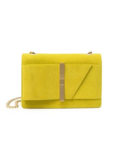 Ted Baker Caileee Leather Giant Loop Bow Suede Crossbody Bag