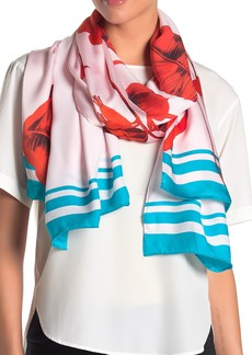 Ted Baker Caycee Fantasia Long Silk Scarf