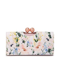 Ted Baker Clarita Bobble  Leather Wallet
