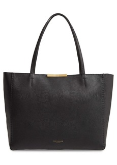 Ted Baker Clarkia Bow Detail Leather Shopper