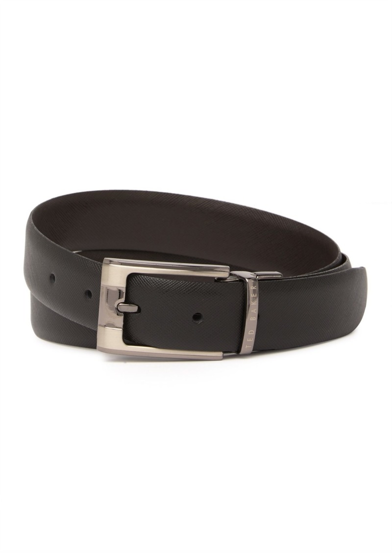Ted Baker Classed Reversible Textured Leather Belt