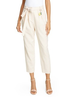 Ted Baker Colour by Numbers Anzaa Mix Stripe Suit Trousers