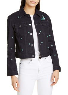 Ted Baker Colour by Numbers Cavca Denim Jacket