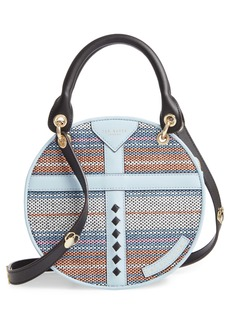 Ted Baker Colour by Numbers Corral Straw Circle Bag