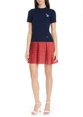 Ted Baker Colour by Numbers Gememma Mix Media Dress