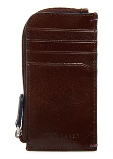 Ted Baker Contrast Stitch Leather Cardholder
