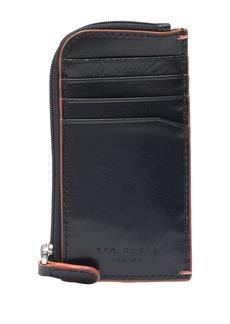 Ted Baker Contrast Stitch Leather Cardholder