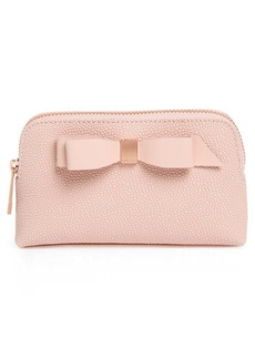 Ted Baker Emmahh Small Leather Cosmetic Pouch