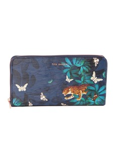 Ted Baker Eulaa Houdinii Zip Leather Matinee Wallet