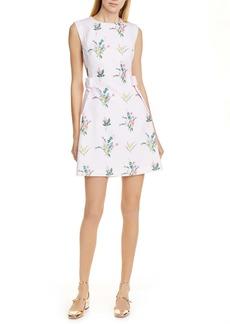 Ted Baker Fleauray Flourish A Line Bow Dress