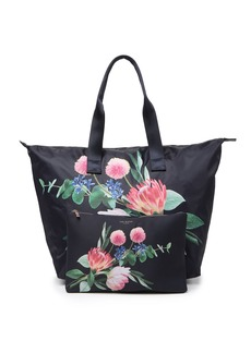 Ted Baker Flourish Foldaway Shopper Tote