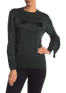 Ted Baker Fringe Knit Sweater