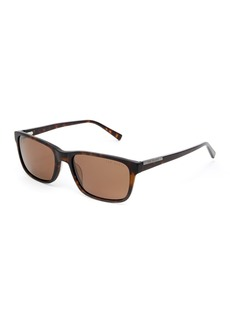 Ted Baker Full Rim Plastic Rectangle Sunglasses