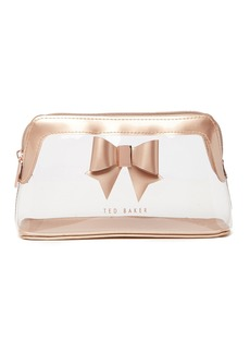 Ted Baker Gemi Clear Bow Washbag
