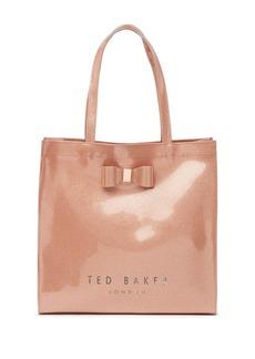Ted Baker Glitter Bow Large Icon Shoulder Bag
