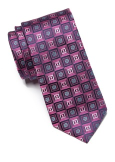 Ted Baker Gradient Square Silk Tie