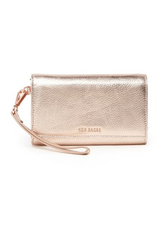 Ted Baker Holli Textured Leather French Purse