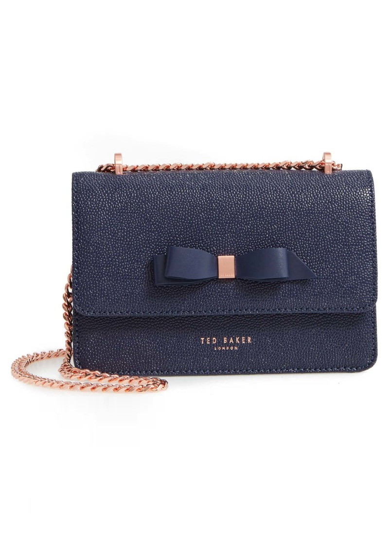 Ted Baker Jayllaa Bow Leather Crossbody Bag