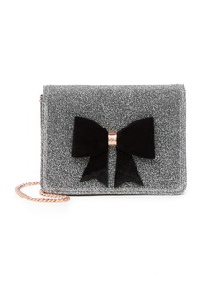 Ted Baker Jeminna Glitter Bow Evening Bag