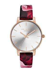 Ted Baker Kate Floral Leather Watch