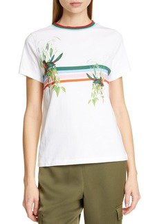 Ted Baker Kathlin Short Sleeve Graphic Print T-Shirt
