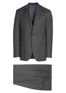 Ted Baker Konan Trim Fit Pinstripe Wool Suit