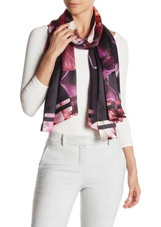 Ted Baker Kyndall Splendour Long Silk Scarf
