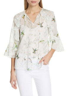 Ted Baker Lassii White Fortune Blouse