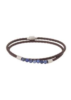 8f089ff66 Ted Baker Lizaa Bead   Leather Double Wrap Bracelet
