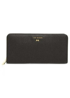 Ted Baker Faceted Bow Zip Matinee Wallet