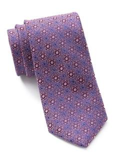 Ted Baker Melange Medallion Silk Tie