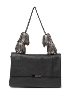 Ted Baker Meloddy Leather Pompom Shoulder Bag