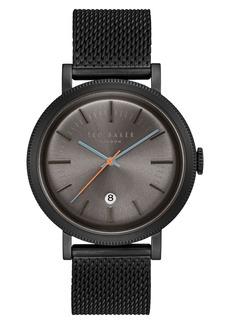 Ted Baker Men's Connor Mesh Bracelet Watch, 42mm