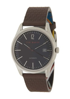 Ted Baker Men's Daquir Leather Strap Watch