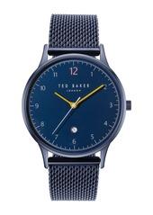 Ted Baker Men's Ethan Mesh Bracelet Watch, 40mm