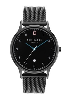 Ted Baker Men's Ethan Mesh Strap Watch, 40x48mm
