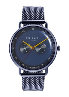 Ted Baker Men's George Mesh Bracelet Watch, 40mm