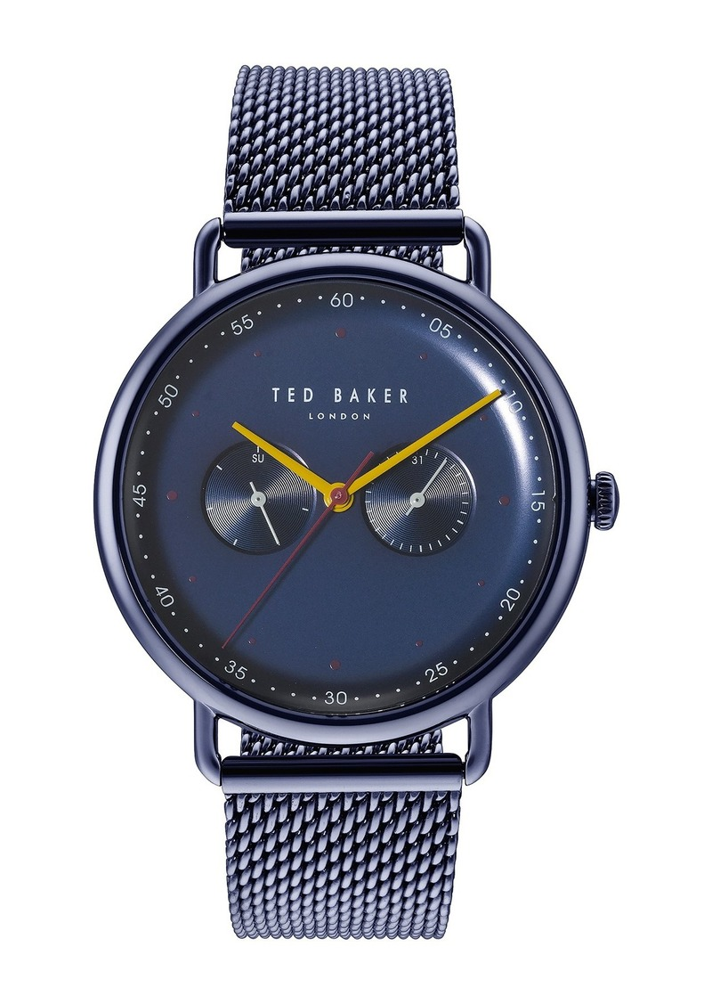 Ted Baker Men's George Mesh Bracelet Watch, 40mm